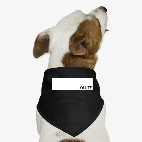 LOLUTE - Hundsnusnäsduk