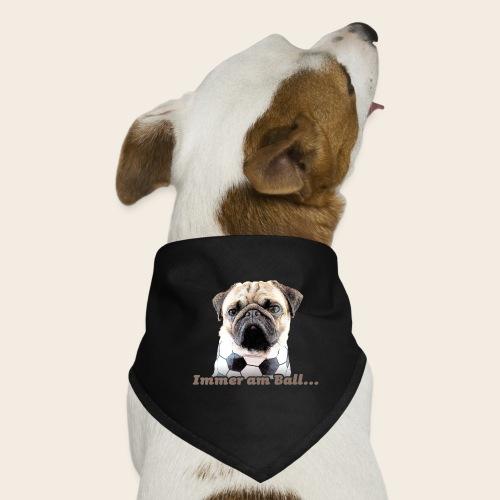 Mops am Ball 2 - Hunde-Bandana