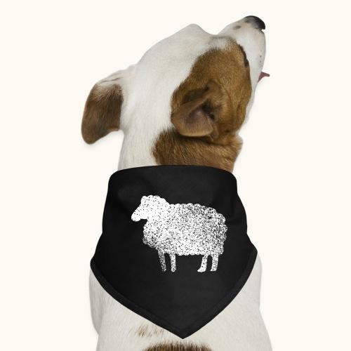 Lustiges Schaf Silhouette Grunge Geschenk Schäfer - Bandana pour chien