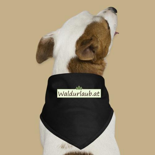 Waldurlaub - Hunde-Bandana