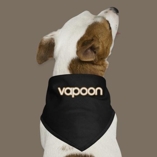 Vapoon Logo simpel 2 Farb - Hunde-Bandana