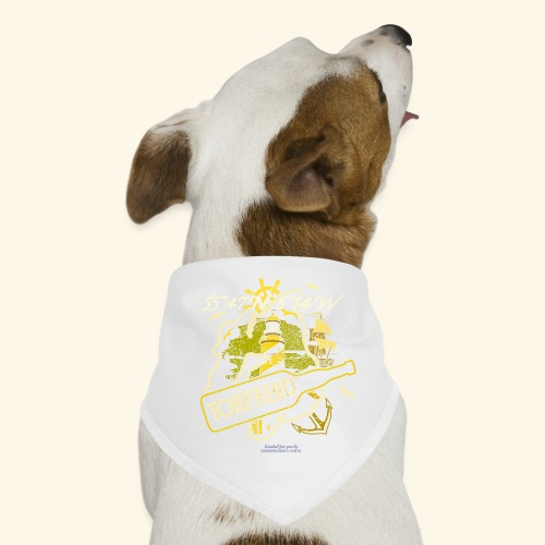 Whisky T Shirt Design Islay Single Malt Peat Torf - Hunde-Bandana