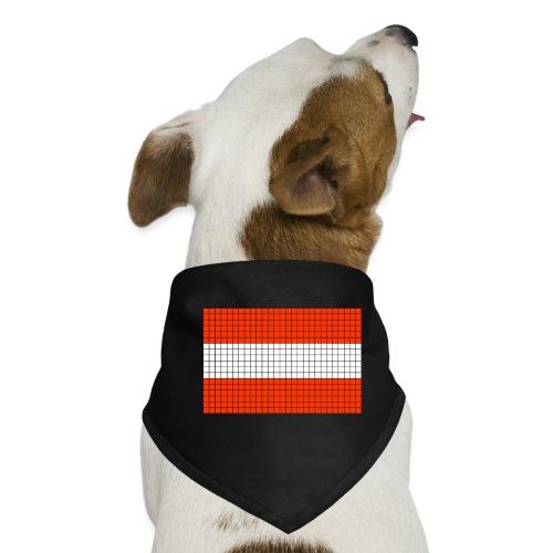 austrian flag - Bandana per cani