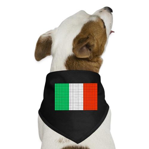 italian flag - Bandana per cani