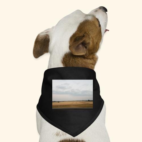 Feld und Wolken - Hunde-Bandana