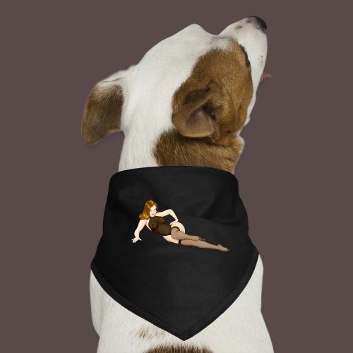 Pinup Lingerie Vargas big - Bandana per cani