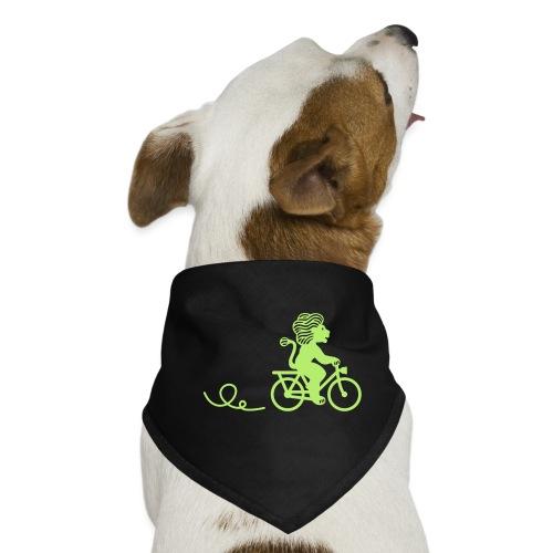 Züri-Leu beim Velofahren ohne Text - Hunde-Bandana