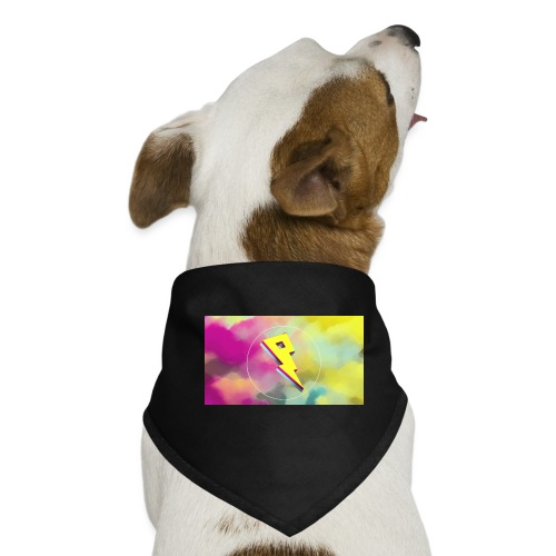 lightning bolt - Dog Bandana