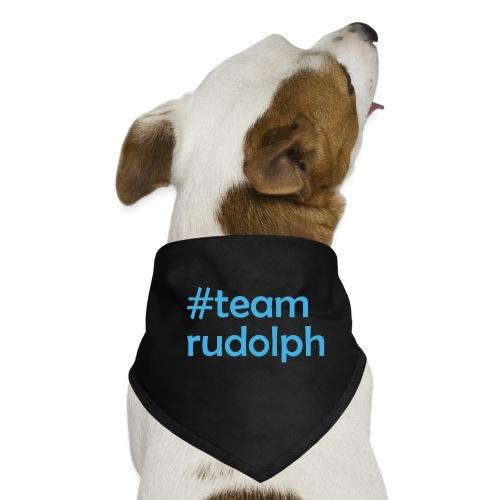 # team rudolph - Christmas & Weihnachts Design - Hunde-Bandana