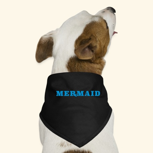 Mermaid logo - Hundsnusnäsduk