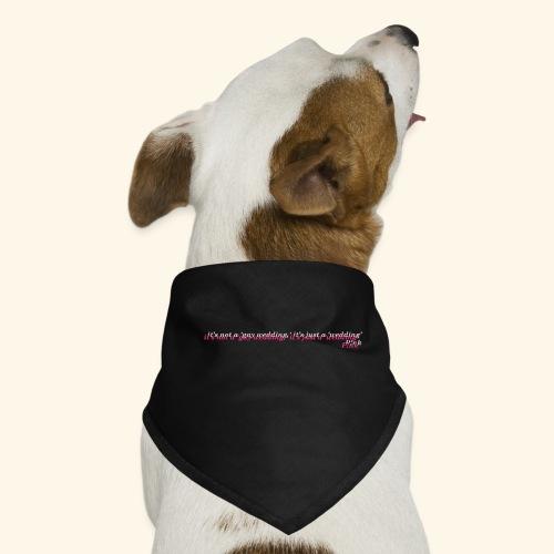 Gay wedding - Bandana dla psa