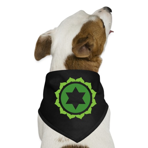 The Heart Chakra, Energy Center Of The Body - Dog Bandana