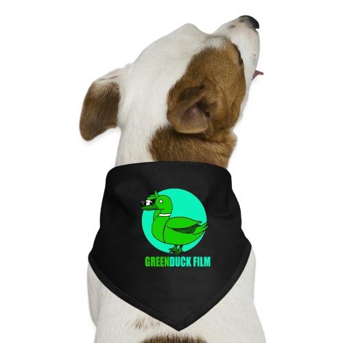 Greenduck Film Turkis blue sun Logo - Bandana til din hund