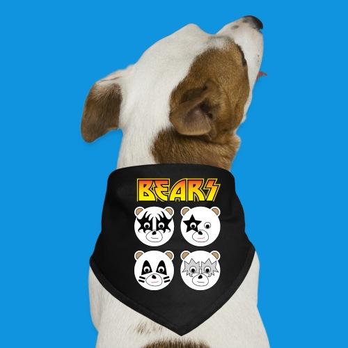 Kiss Bears square.png - Dog Bandana