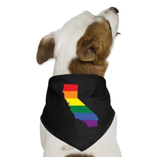 California Rainbow Flag - Dog Bandana