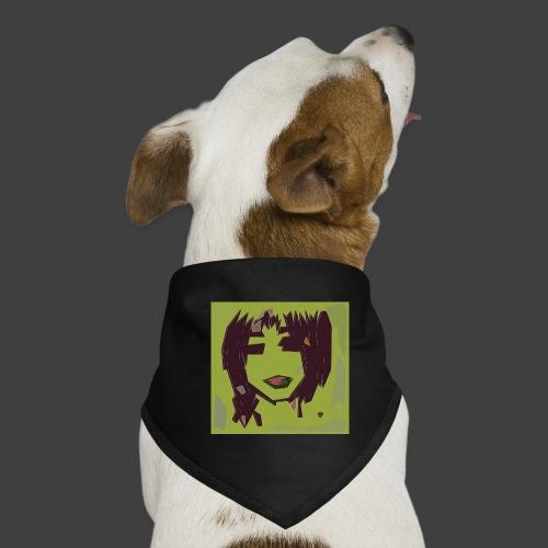 Green brown girl - Dog Bandana
