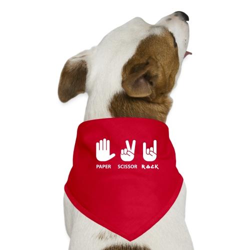 papier ciseaux roche c - Bandana pour chien