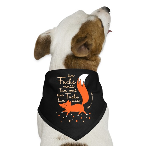 einfuchsmusstun - Hunde-Bandana