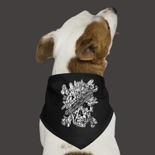 Crane de Pirate de Cristal Noir et Blanc - Bandana pour chien