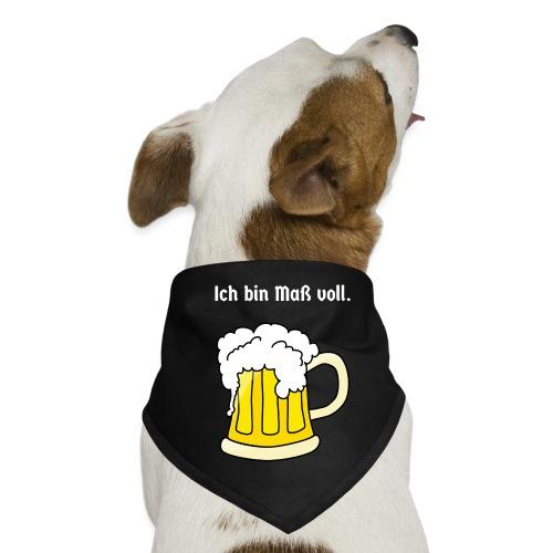 ICH BIN MASS VOLL - Hunde-Bandana