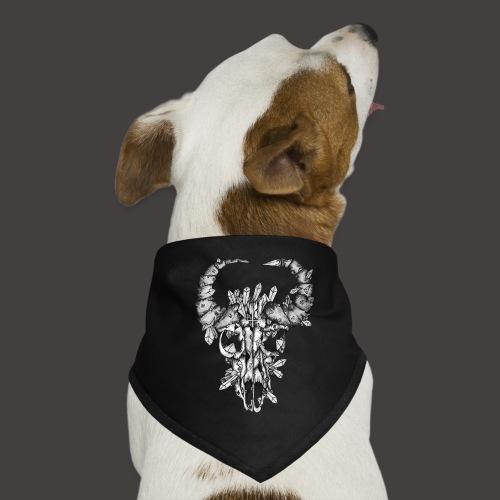 Buffle de Cristal Noir et Blanc - Bandana pour chien