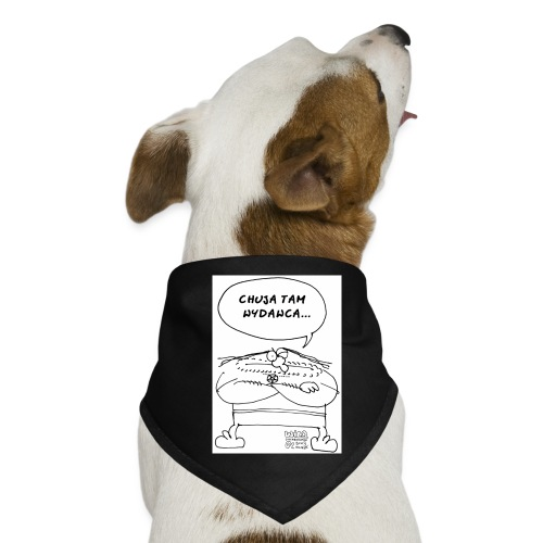 chuja tam wydawca - Bandana dla psa
