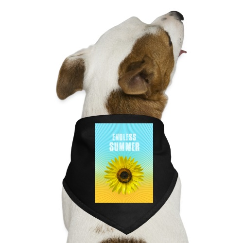 sunflower endless summer Sonnenblume Sommer - Dog Bandana