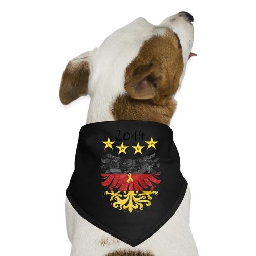 Gelbe Schleife - Hunde-Bandana