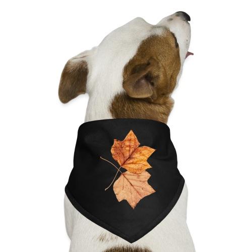 Blätter - Hunde-Bandana