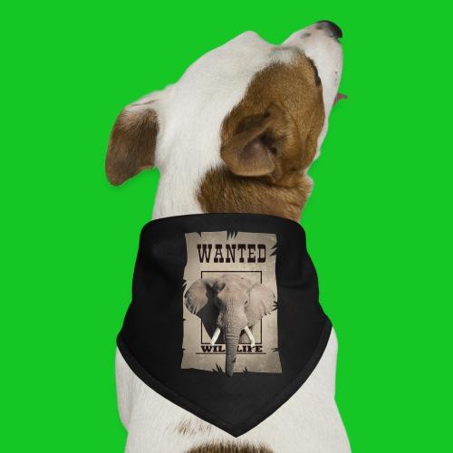 Wanted wildlife Olifant - Honden-bandana