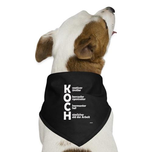 Was macht einen Koch aus? (Premium Shirt) - Hunde-Bandana