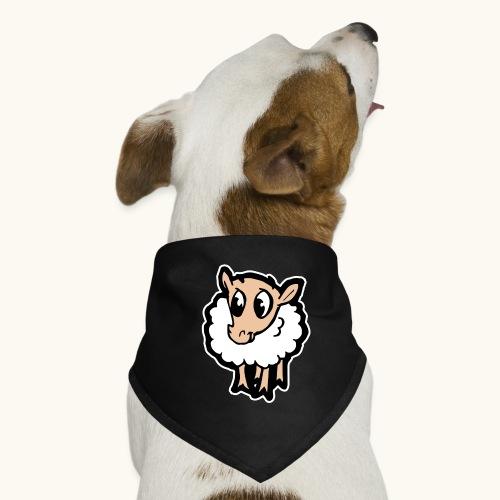 Süßes lustiges Comic Schaf Geschenkidee Cartoon - Bandana pour chien