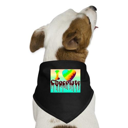 ILOVCHOCO2 copie - Bandana pour chien