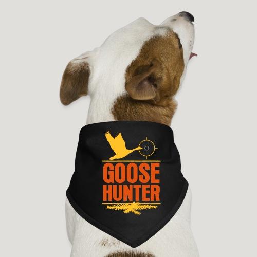 Jägershirt Gänse Jäger Goose Hunter Wildgans Jagd - Hunde-Bandana