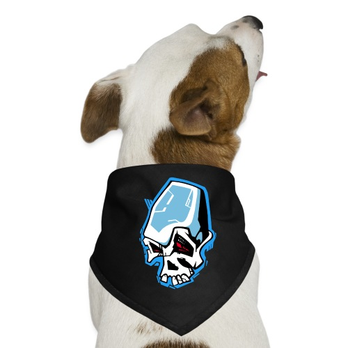 Skull Graffiti - Bandana pour chien
