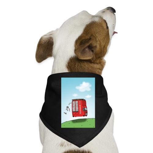Feuerwehrwagen - Hunde-Bandana