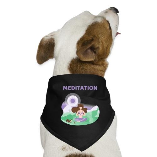 Yoga Meditation - Bandana per cani