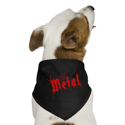 METAL   METAL - Hunde-Bandana
