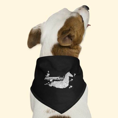 Péniche Steampunk Scaldis - Bandana pour chien