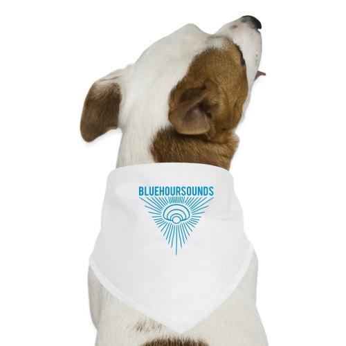 New Blue Hour Sounds logo triangle - Dog Bandana