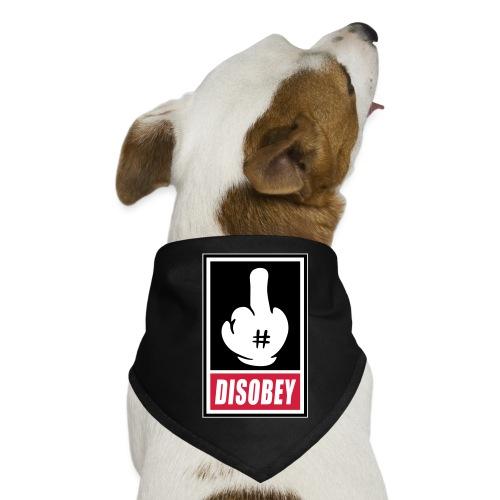 Fck Disobey vector 3 colors - Bandana pour chien