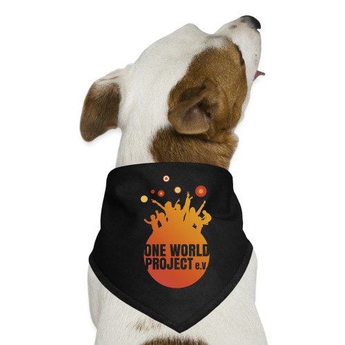 One World Project e. V. - Logo - Hunde-Bandana