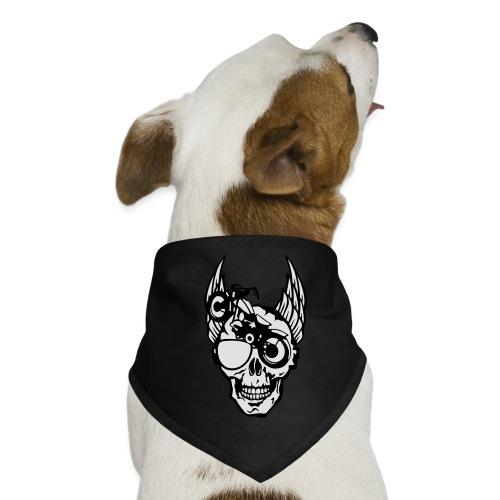 tete mort moto skull aile motard oeil - Bandana pour chien
