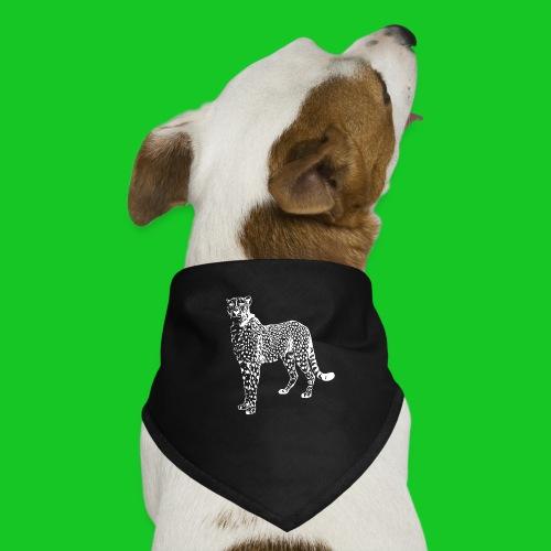 Cheetah wit - Honden-bandana