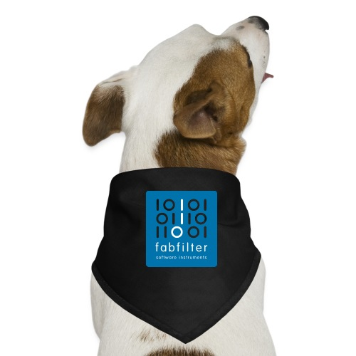 fabfilter logo blue large - Dog Bandana