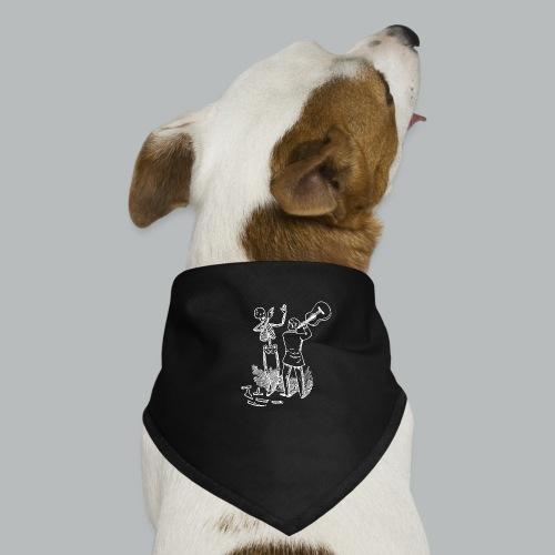 DFBM unbranded white - Dog Bandana