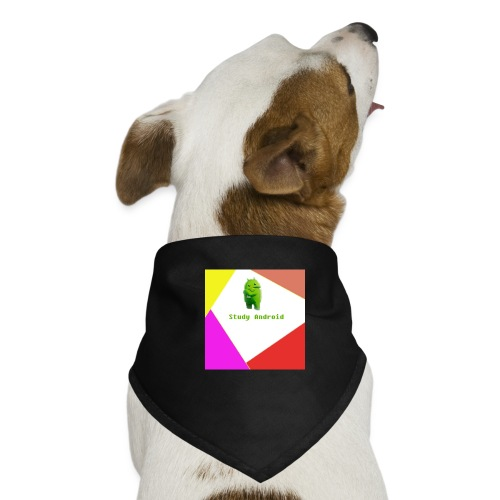 Study Android - Pañuelo bandana para perro