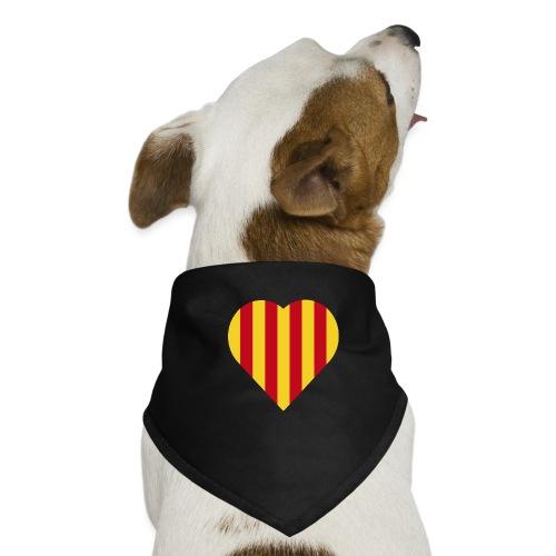 L'Estelada Vermella Cor Catalunya - Dog Bandana