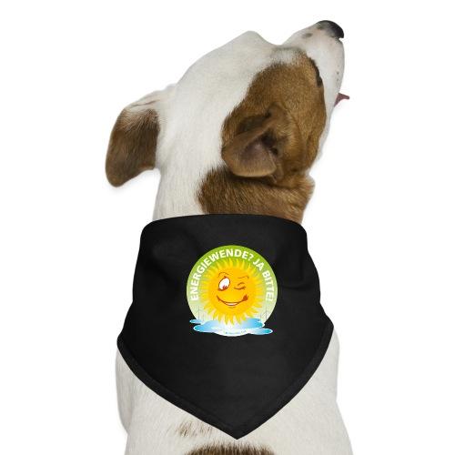 Energiewende Ja bitte - Hunde-Bandana