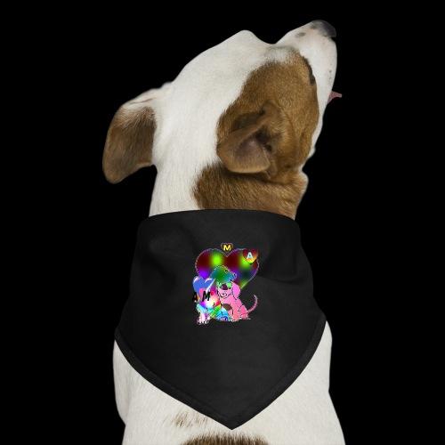 chien coeur AM - Bandana pour chien